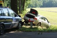 Flinke schade na aanrijding in buitengebied Eibergen