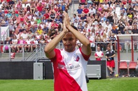 Topdrukte op de open dag van FC Utrecht