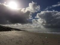 Uitwaaien aan de kust in Julianadorp