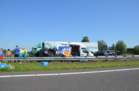 Dodelijk ongeval op de A7 bij Oudehaske + VIDEO