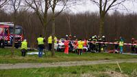 Gewonden bij crash op Waterlandseweg (N305) Almere (HOGE-RES) + VIDEO
