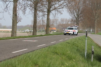 Lijnbus botst op auto Oudelandsedijk Stavenisse